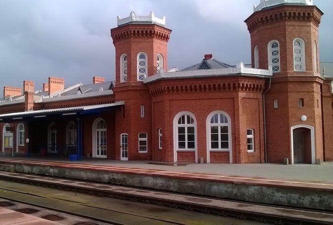 Dworzec w Kostrzynie nad Odrą