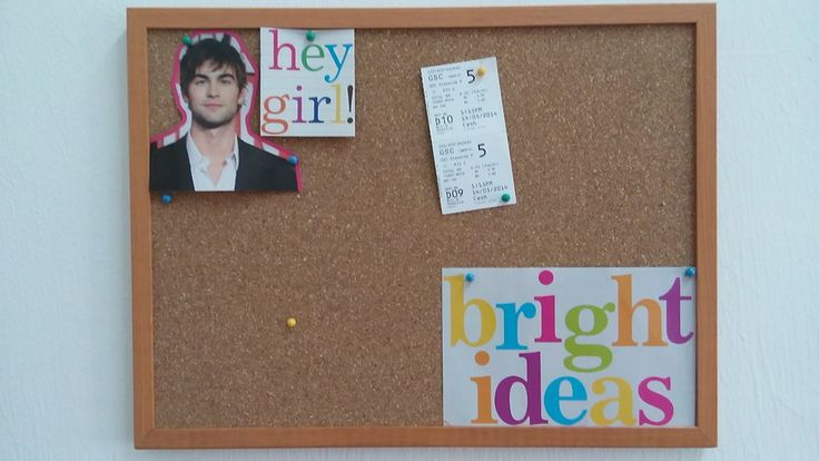 I need to spice up my notice board!