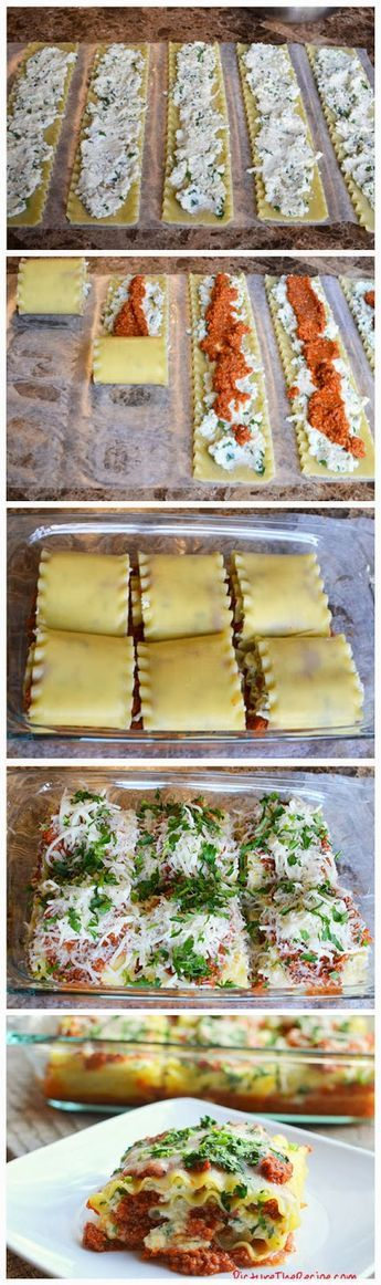 Start Recipes: Lasagna Rolls love these!! Having them for dinner tonight. Yum!!