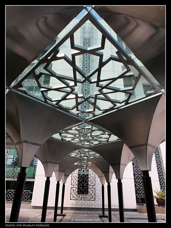 I am not an academic scholars but I could notice lots of symmetry used in the Islamic geometric art. In the month of Ramadan, I thought it would be good to visit the Islamic Arts Museum Malaysia (IAMM). The building above is the office block. The museum gallery is the lower block of building below….