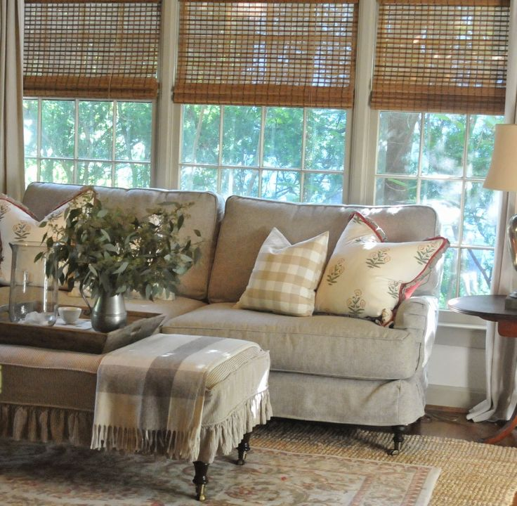 living venice slipcovered about bench rug style in fabric sofa built beach sisal cottages couch slipcover furniture room design cococoy cottage