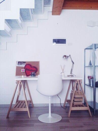Classic tulip chair for my workspace #mdfitalia #flowchair