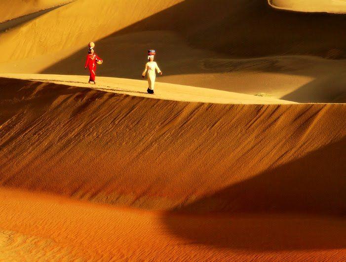 Les dunes de sable à Mui Ne.