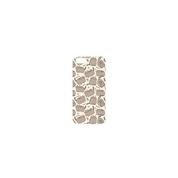 Iphone 4 Case super cute pusheen cat Iphone 4s Cases ❤ liked on Polyvore featuring accessories and tech accessories