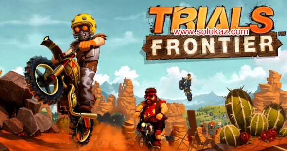 Trials Frontier v4.3.0 Mod Apk Unlimited Money Terbaru