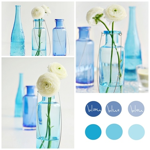 Inspiration Blau Hochzeit