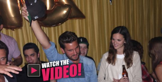 Boy Gone Wild! A Solo Scott Disick Sprays Champagne, Parties All Night In Hamptons Birthday Bash WATCH The Crazy Video | Radar Online