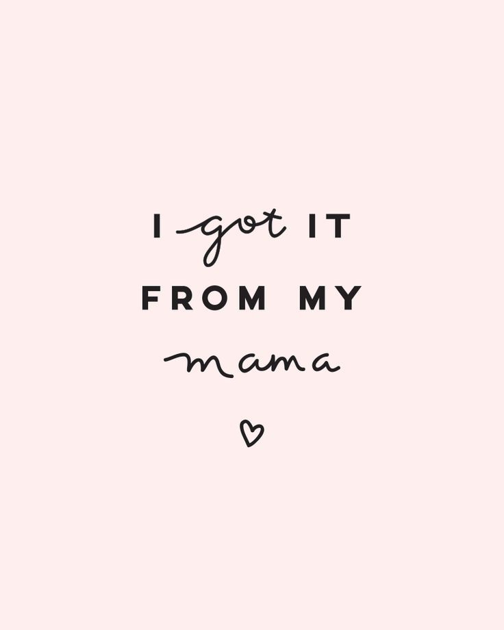 Shoutout to all the mamas!