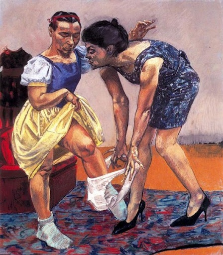 Paula Rego - Snow White and her Stepmother.