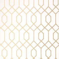 Papier peint - Thibaut - La Farge - Or métallisé