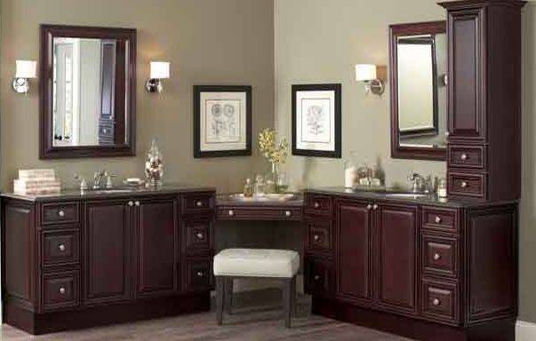 L Shape Double Sink With Vanity Bath Ideas Pinterest Bathroom Vanities Shape And Double Sinks
