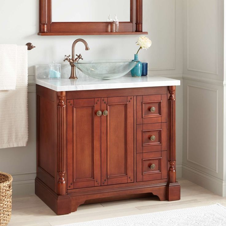 24 Alvelo Vanity For Semi Recessed Sink: Best 25+ Vessel Sink Vanity Ideas On Pinterest