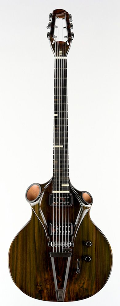 THIERRY ANDRé KOUAï GUITAR 2014 – 1 of 2. I can't believe they made 2 of these!
