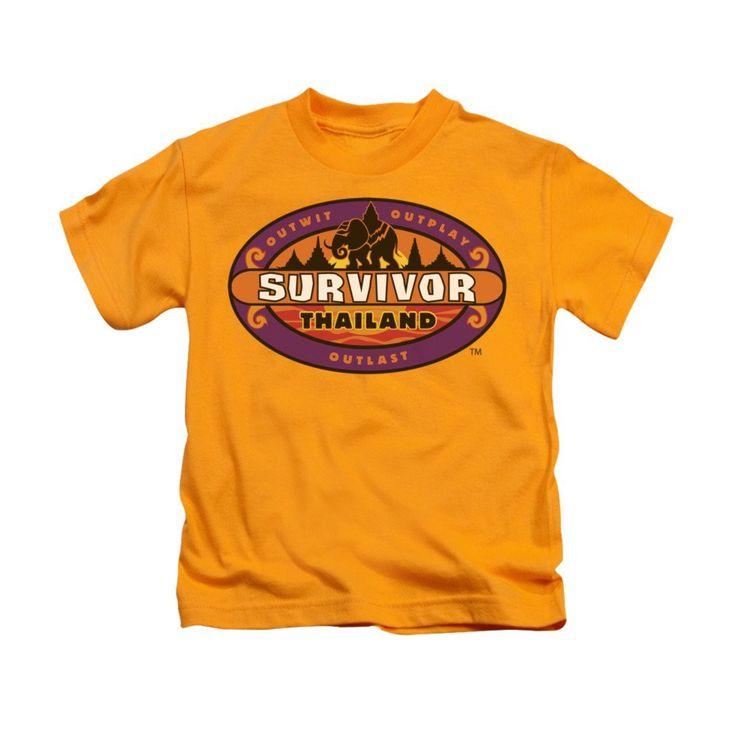 Survivor - Thailand Kids T-Shirt