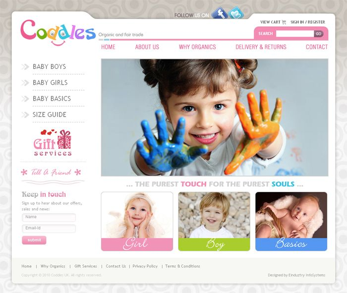 Website Design By Manish Gogna At Coroflot.com. Template Reminds Me Of File  Folders