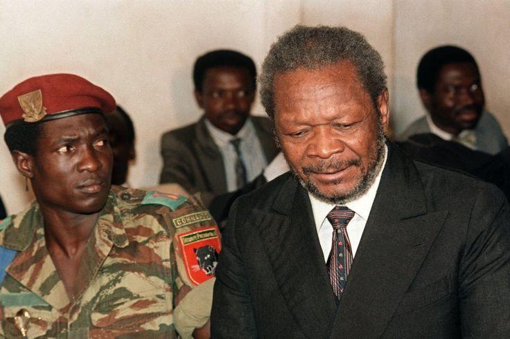 Verhandlung:  Nach Bokassas Rückkehr in die Zentralafrikanische Republik wurde...