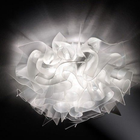 Slamp Veli Prisma plafondlamp Plafondlamp transparant - Plafondlamp Rondom Stralend - Plafondlampen - Binnenverlichting