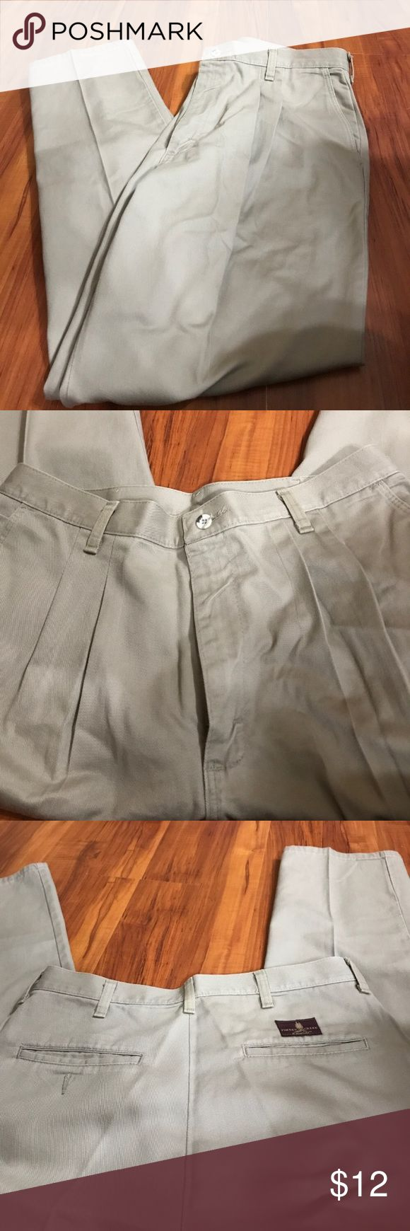 Timber creek men's size 33/30 khaki pants euc Timber Creek men's khaki pants size 33/30 in good used condition. They are 100% cotton. No stains or holes! Make an offer! Timber Creek Pants Chinos & Khakis