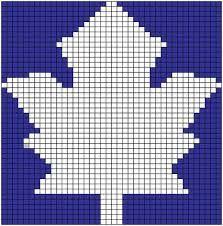 Toronto Maple Leafs knitting pattern