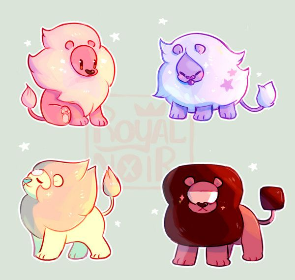 Some non-undertale art c:  is my favorite character from Steven Universe, and gem lion fusions is like my next favorite thing