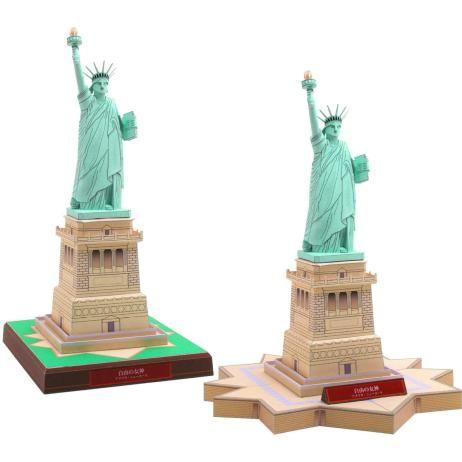 アメリカ 自由の女神,建物,ペーパークラフト,北米・南米,アメリカ,自由の女神,世界遺産,建物,ニューヨーク