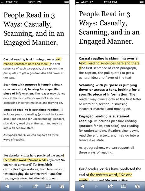 Size Matters: Balancing line length and font size in responsive web design smashingmagazine.com 2014