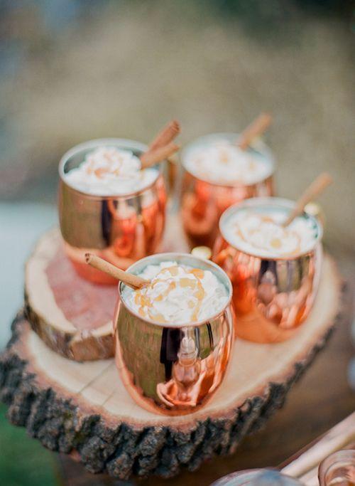Winter Wedding Signature Drink: Gingersnap Cocktail | Brides.com