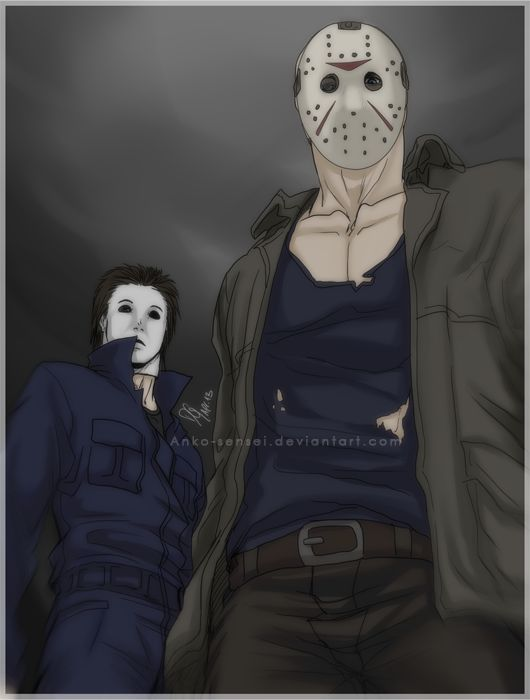 Old Drawing That I Just Could Finish Jason Voorhees BItChEs Lmao