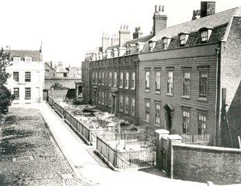 Officers Residences, Deptford Dockyard, 1880. Demolished 1902.