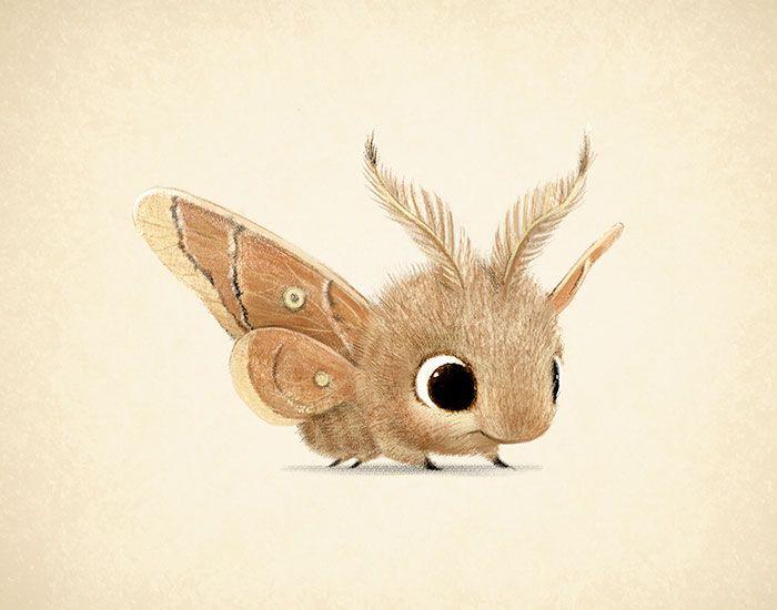 Les très mignonnes illustrations danimaux de Sydney Hanson  Dessein de dessin