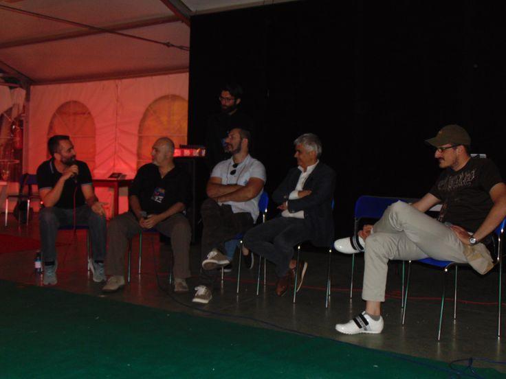 """Festival horror """"La Serra trema"""": Retrospettiva su Dylan Dog. Intervengono Pasquale Ruju, Andrea Cavaletto, Ivo Gazzarrini, Andrea Berneschi, Matteo Mancini."""