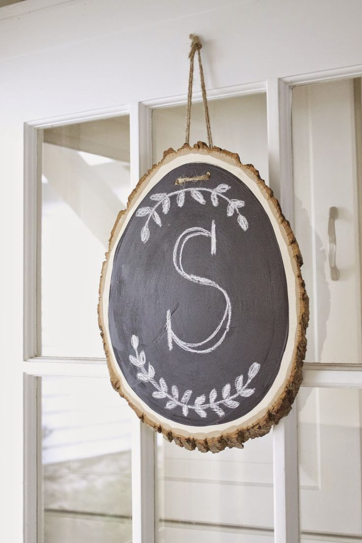 Wooden circles for crafts - Find This Pin And More On Crafts