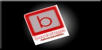 backstage Administration, specializing in contracting out to clients for a single job or a series of jobs.