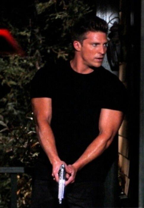 Steve Burton - Jason Morgan aka Jason Quartermaine from General Hospital.