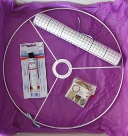 zelf lampenkap maken (pakket)