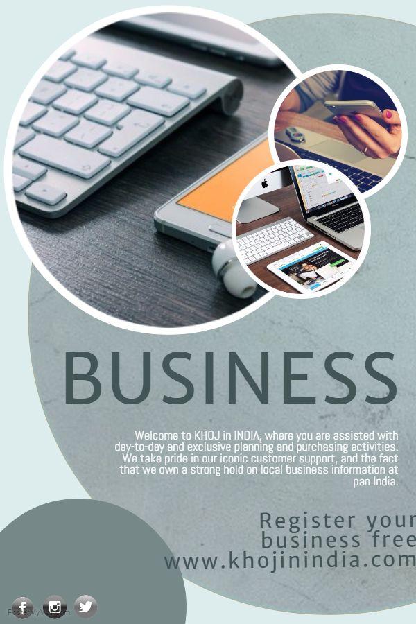 Register Your Business 100% Free... Log on to www.khojinindia.com AND PLUG INTO DIGITAL INDIA