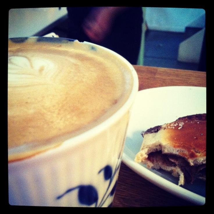 Coffee at Tobis Cafe