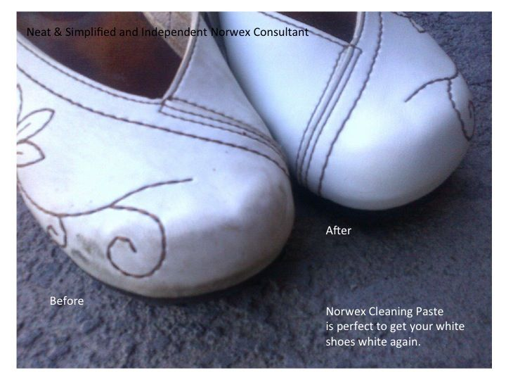 how to clean white shoes that are dirty