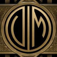 may222 Loin omat nimikirjaimeni The Great Gatsby - Kultahattu -monogrammikoneella.