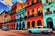 "New artwork for sale! - "" Old Retro Car In Havana by PixBreak Art "" - http://ift.tt/2vdKIjA"