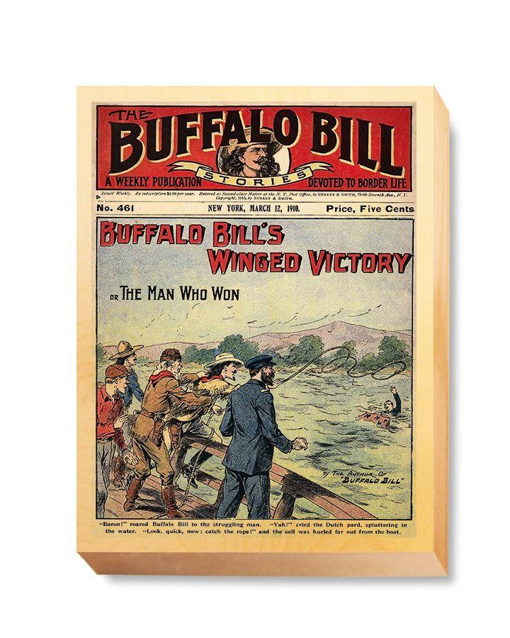 WES 024 Western Comic Cover Buffalo Bill