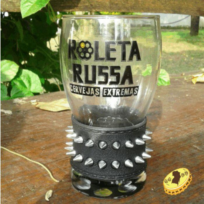 Copo de Cerveja Roleta Russa