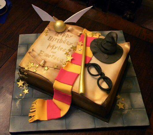 Harry potter cake....