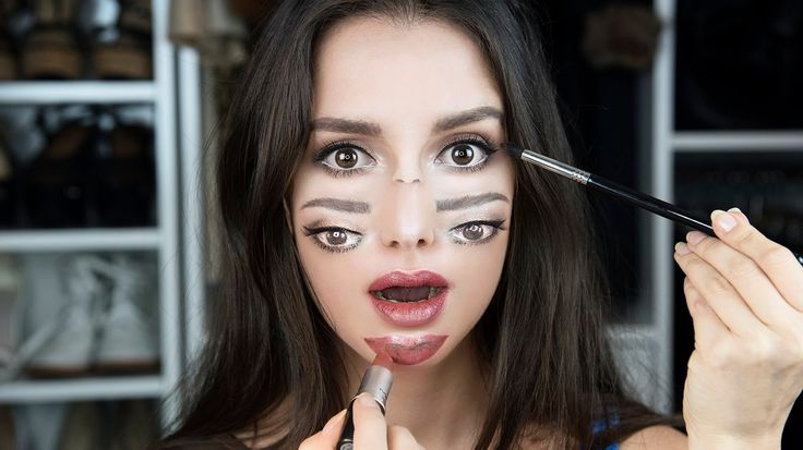 Double Vision  | Çift Yüz Makyajı