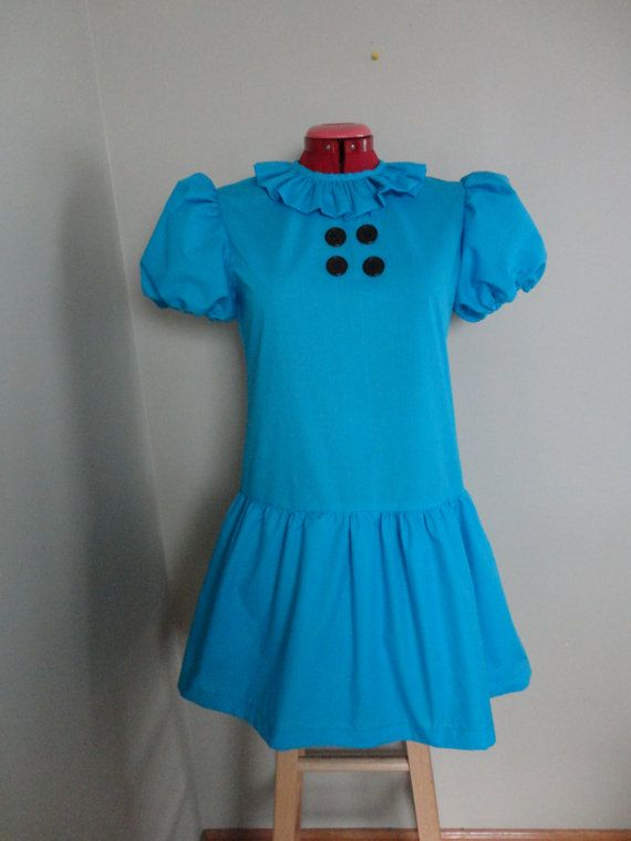 Adult size Lucy Van Pelt dress from You are a by BasilandButtons