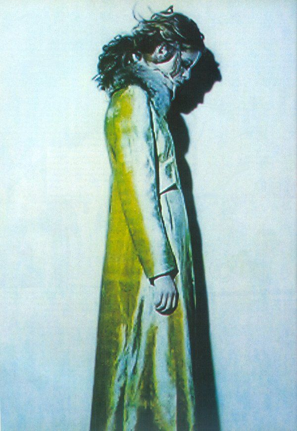 photographed by Paolo Roversi - Anna Molinari Ad Campaign: Fall/Winter 1997