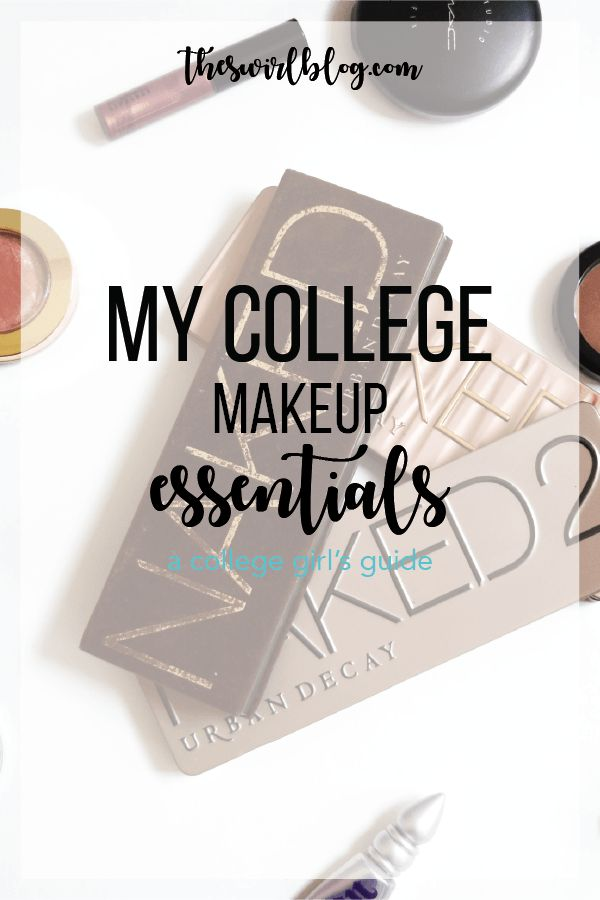 Affordable, and great makeup for the college student. Proven to stay all day while not being too heavy for your long walk to class or a long night out! // theswirlblog.com // Gabby & Hannah