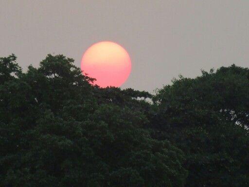 Sunset at sebesi island, lampung, indonesia