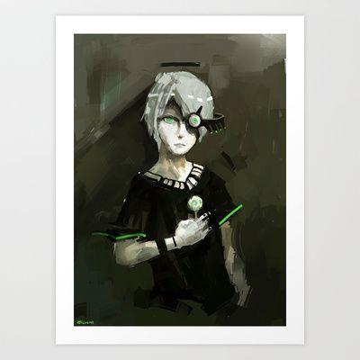 """""""GUANG MU""""  Art Print by Zen.Gin - $18.72 society6!"""