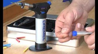 Dremel VersaFlame Multi-function Butane Torch - YouTube